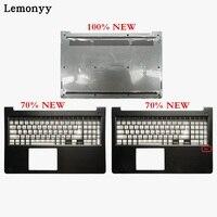 New laptop shell For Dell Vostro 15 5568 V5568 Dark gray Palmrest Upper Case/Bottom case cover 0HJP49 0FCN57 0JD9FG