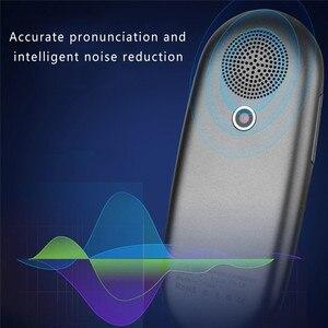 Image 5 - נייד חכם מיידי קול מקוונים מתורגמן אמיתי זמן רב שפות מיני תרגום כלי עם מצלמה סריקה מתורגמן