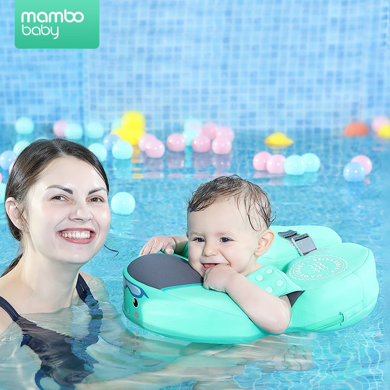 Solid Non-inflatable Baby Swimming Floating Neck Float Swim Ring Swim Trainer swimming pool toys for baby 8 months-3 years