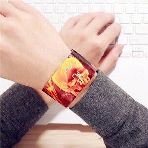 Image 4 - Waterdicht Polsbandje Papier Horloge Creative Led Klok Horloge Goed Uitziende Papier Band Horloges Sport Horloge Horloge