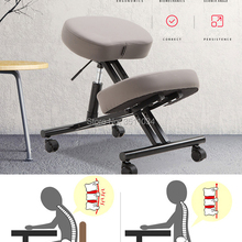 Stainless steel Ergonomic Posture Knee Chair with Silent pul