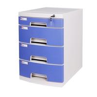 A4 Datei Schrank Schublade Typ Daten Schrank Büro Möbel Erhalt Box Lagerung Box Kunststoff Datei Schrank auf