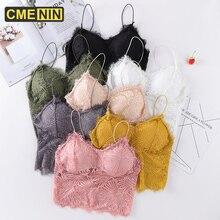 Cmenin-Bras Push-Up Lingerie Top Lace Women Underwear Cotton Sexy for Ladies Strapless