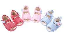 Детские сандалии; Обувь для маленьких девочек; Мягкая обувь;
