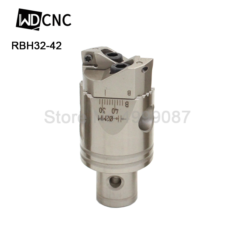 Inserts 19-25mm Adjustable Rough Boring Head Tool LBK Mount BT40 Milling Shank