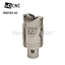 Высокая точность RBH 32-42mmTwin-bit грубая Расточная головка используется для глубоких отверстий, CCMT060204 вставки, RBH расточной инструмент для станка с ЧПУ