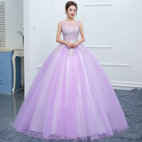 Custom made Vestidos de 15 anos Lace Appliques Tulle Ball Gowns Formal Party Dress 2019 Girl Quinceanera Dress