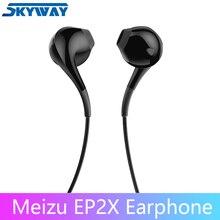Original MEIZU Kopfhörer EP2X in Ohr mit Mikrofon 14mm Super faser papier membran HD Sound Qualität Headset