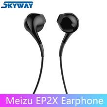 Originale MEIZU Auricolare EP2X in Ear con Microfono 14 millimetri Superfine fibra di membrana di carta HD Qualità del Suono Auricolare