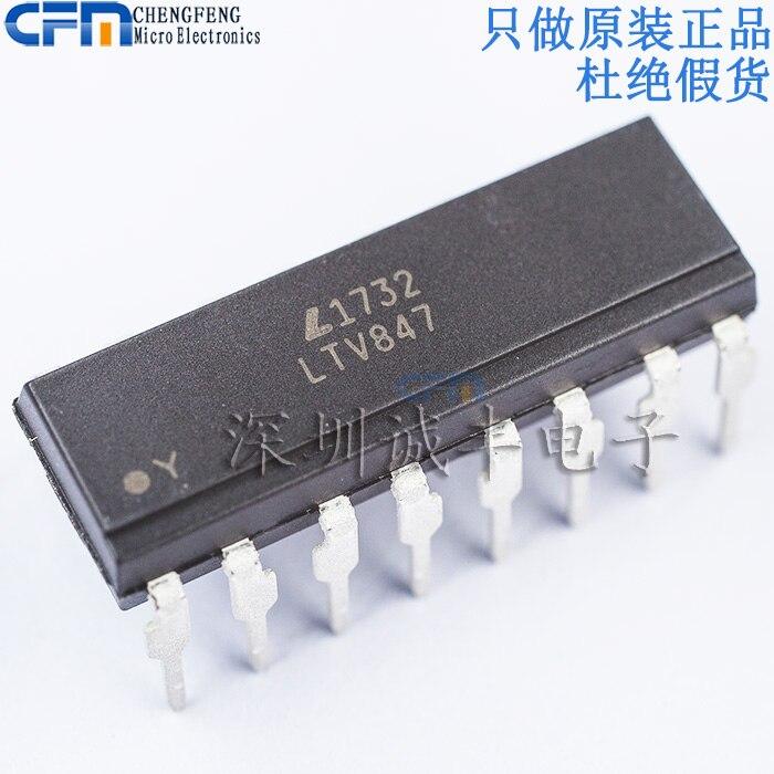 10 قطعة LTV-847 LTV847 DIP