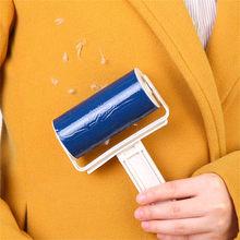 Lavable Nettoyeur à Rouleaux Peluches Collant Sélecteur De Cheveux Pour Animaux De Compagnie Vêtements Meubles Fluff Remover Brosse Nettoyant Ménager Essuie-glace Outil Livraison Directe