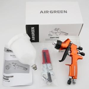 Image 2 - Pistora pulveirizadora high end 1.3mm, revestimento transparente, verniz, pintura por ar, ajuste 30cm, largura padrão