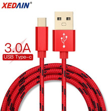 Good 3A USB Type C Cable For Samsung Xiaomi Redmi Note 7 Mi 9t Fast Charging Cord USB-C Charger Mobile Phone USB C Type-c Cable