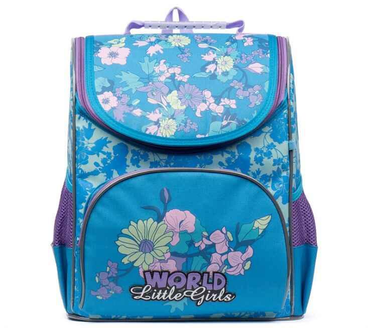 Nowe modne kwiatowe dzieci torby szkolne dla dziewczynek duża pojemność plecak dla dzieci podstawowym tornister plecaki ortopedyczne klasy 1-5