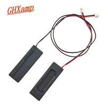 Ghxamp Mini haut parleur cavité haut parleur 8Ohm 1W unité de haut parleur pour machine plate 34.8mm * 11.2mm * 6.0mm 2 pièces