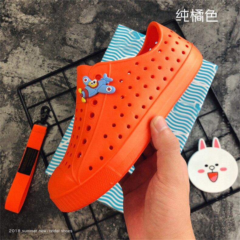 Sapatos Boys & girls Praia Oco PVC Mulas tamancos