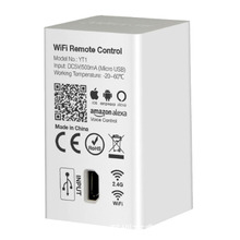 Miboxer YT1 WiFi Remote by Smartphone App compatible with  2.4GHz RF Series Product WiFi Wireless Controller miboxer yt1 remote wifi led controller amazon alexa voice control wifi wireless