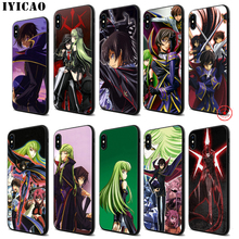 IYICAO Anime Julius Kingsley Code Geass Soft Black Silicone Case for iPhone 11 Pro Xr Xs Max X or 10 8 7 6 6S Plus 5 5S SE