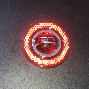 2020 100% brand new Reflective Sticker Plastic Safety Sign Red For Trucks Trailers Buses Cars Motorcycles Parts(China)