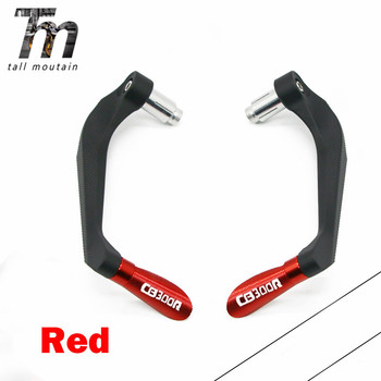 Motorcycle Accessories 7/822mm Universal Handlebar Grips Brake Clutch Levers Guard Protector For Honda CB300R CB 300R CB 300 R image