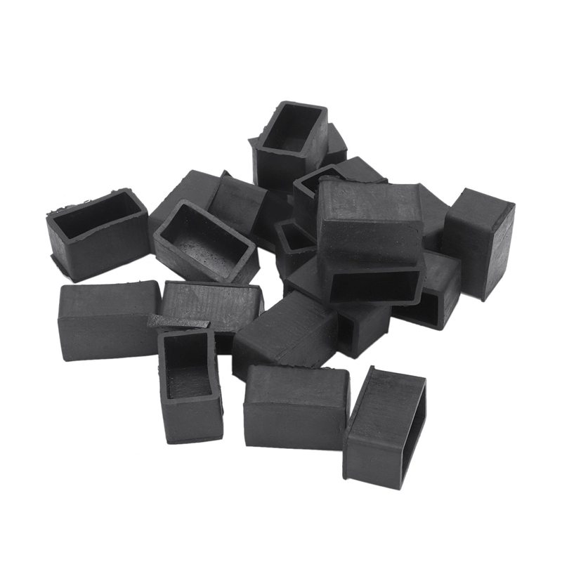 20 Pieces, 40 Mm X 20 Mm, Integrated Rubber Feet Washer, Protector