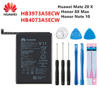 100% Orginal Huawei HB3973A5ECW HB4073A5ECW 5000mAh Batterie Für HUAWEI Ehre 8X Max/Honor Hinweis 10 /Mate 20X 20 X EVR-AL00 + Werkzeuge