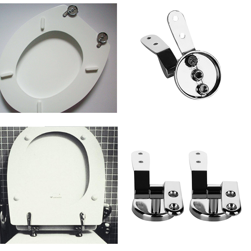 High Quality 1 Set Hinge Replacement Toilet Seat Hinge Toilet Mountings Gasket Nut Part Kits