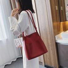 цены на New Casual Shoulder Bag Simple Design Side Pocket Small Square Bag Large-capacity Shopping Bag Ladies Fashion Messenger Bag  в интернет-магазинах