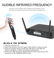 Microphone Wireless G-MARK D4 Professional 2 Channels UHF System Dynamic Mic Automatic Frequency 80M For Party Stage Host Church