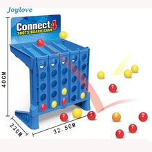 JOYLOVE Bouncing Linking Shots - Basic Connect 4 Shots Game  Team Building Fun  Games For  Good Toy For Pre-school Children