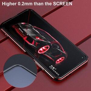 Image 2 - Voor Huawei Nova 5T Case Originele Luxe Glossy Aluminium Bumper Case Voor Huawei Nova 5T Cover Fundas Honor 20 20S Pro Metalen Frame