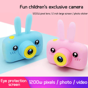 Children Mini Camera Full HD 1080P Portable Digital Video Photo Camera 2 Inch Screen Display Children ForKid Game Study Camera(China)