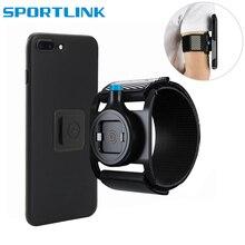 Unverise casos de telefone esporte braçadeira bolsa suporte do telefone para o telefone na mão capa correndo braço banda base para iphone/samsung/huawei