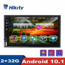 Hikity Android 2 Din Xe Ô Tô Đài Phát Thanh 7Inch Bluetooth Autoradio WIFI GPS FM Stereo Đầu Thu Dành Cho Xe Toyota Volkswagen Hyundai Kia Renault