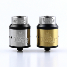LostArt RDA Atomizer 24mm rebuildable Tank with BF PIN for 510 Electronic Cigarette Mod  Wide Bore by PHENOMENON free gift original digiflavor drop solo rda single coil 22mm with two caps standard 510 and bf squonk 510 pin deep base