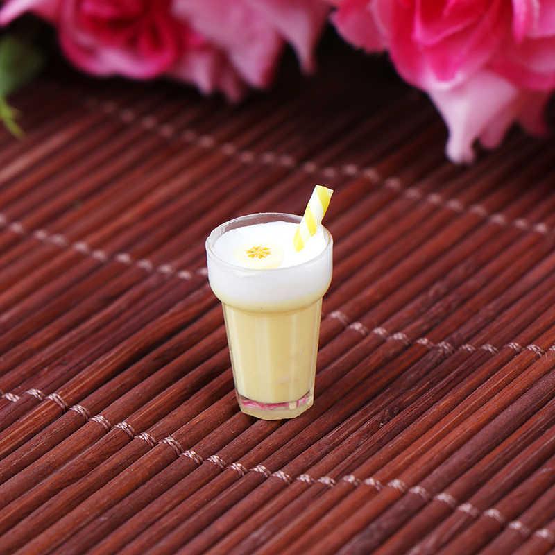 2X Miniature Dollhouse Coffee Cup Kitchen Room Food Drink Decor Mini World JB