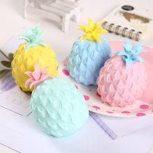 Anty stres zabawa miękka ananasowa piłka zabawki antystresowe dzieci dorosły Fidget Squishy antystresowy kreatywność zabawka sensoryczna prezent