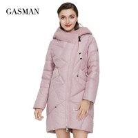GASMAN 2021 Neue Winter Jacke frauen Mit Kapuze Warm Langen Dicken Mantel Mit Kapuze Parka Weibliche Warme Sammlung Unten Jacke Plus größe 1702
