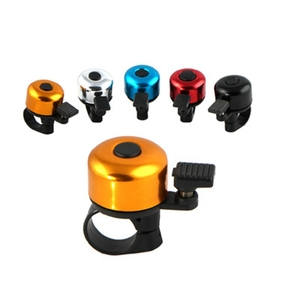 Hot Aluminum Alloy Loud Sound Bicycle Bell Handlebar Safety Metal Ring Environmental Bike Cycling Horn Multi Colors(China)