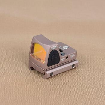 Mini RMR Red Dot Sight Scope Adjustable Collimator Pistol Rifle Reflex Sight Fit 20mm Rail For Hunting Airsoft Optics Sight 5