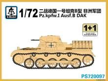 S-Model PS720097 1/72 Pz. Kpfw. I Ausf.B Dak