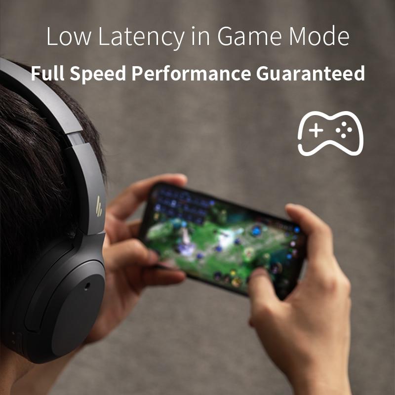 EDIFIER W820NB ANC Wireless Bluetooth Headphone Hi-Res Audio Bluetooth 5.0 40mm Driver Type-C Fast Charge Hybrid ANC 6