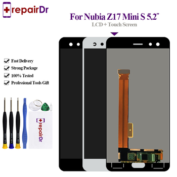 Original For ZTE Nubia Z17 MiniS NX589J Axisinternational LCD Display Screen+Touch Panel Digitizer 5.2