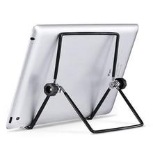 JOHNWILL Foldable Universal Tablet Holder For iPad Holder Tablet Stand Mount Adjustable Desk Support Flexible Phone Stand
