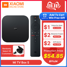 Xiaomi IPTV Subscription Media-Player Tv-Box Cast Netflix WIFI Smart-Tv Global-Version