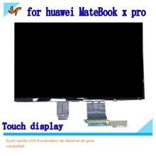 Dla Huawei MateBook X Pro MACH W19 MACH W29 13.9 calowy ekran dotykowy LCD monitor LPM139M422 wyświetlacz 3K rozdzielczość 3000X200