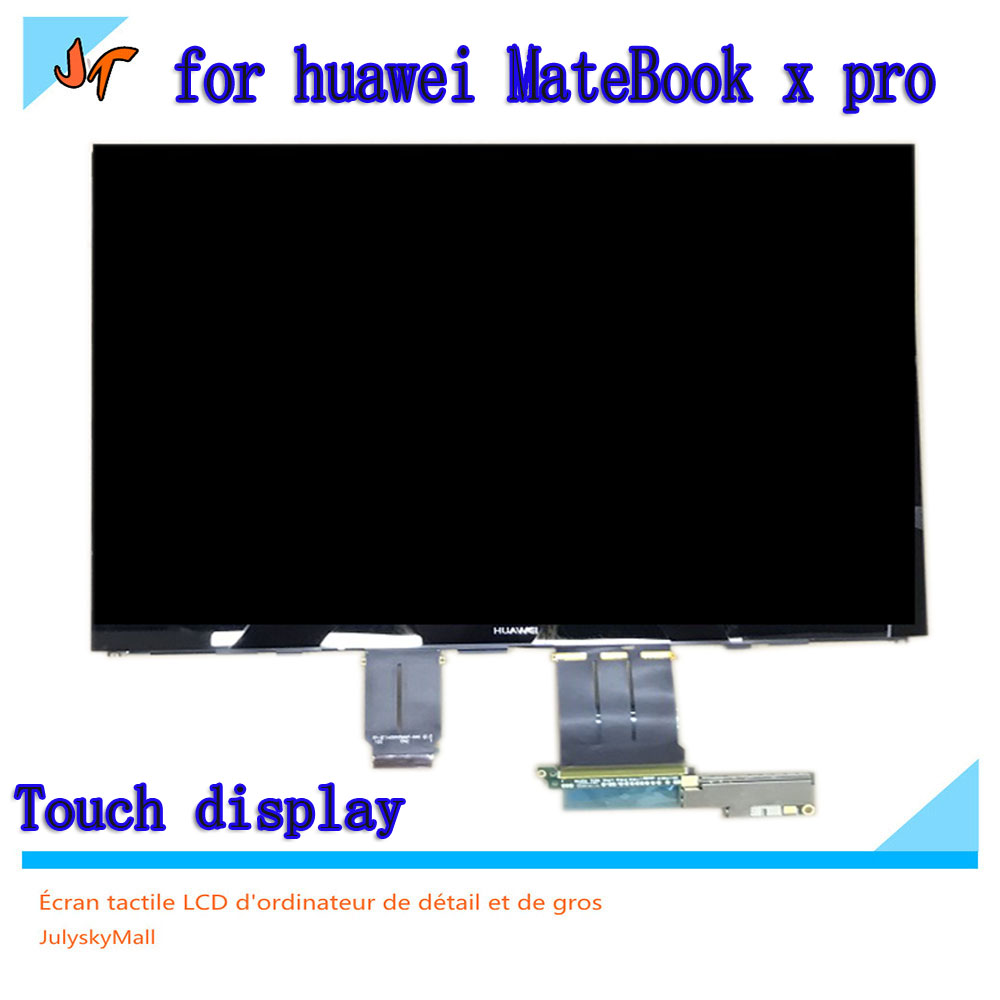 For Huawei MateBook X Pro MACH-W19 MACH-W29  13.9-inch Touch Screen LCD Monitor LPM139M422 A 3K Display 3000X200 Resolution