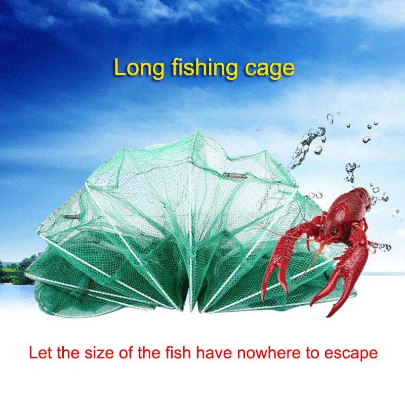 Gaiola de camarão pesca net catcher armadilha