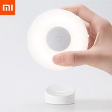 Новый Xiaomi Mijia светодиодный индукционный ночник 2 лампы яркость регулируемый инфракрасный умный датчик человеческого тела с магнитным Bas