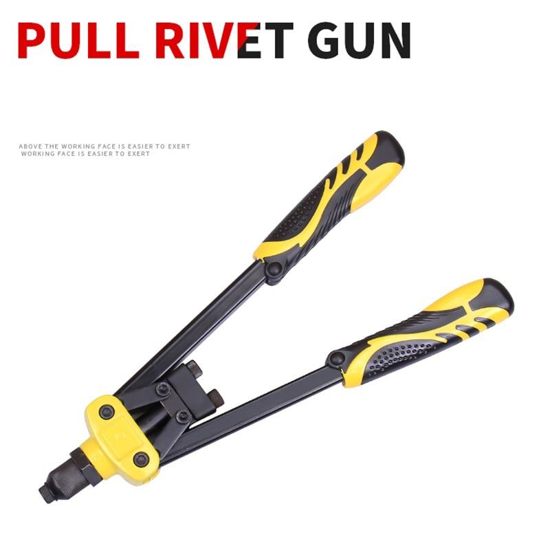 Industrial Grade Manual Blind Rivet Gun Rivet Grabbing Willow Hat Nut Dingding Tool Pull Gun Nail Decoration Riveting Tool Gun
